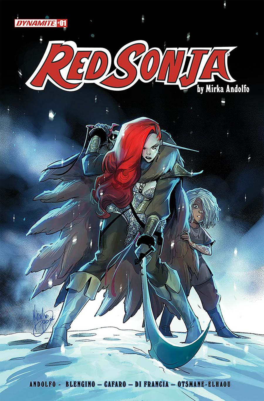 Red Sonja Vol 9 #1 Cover A Regular Mirka Andolfo Cover
