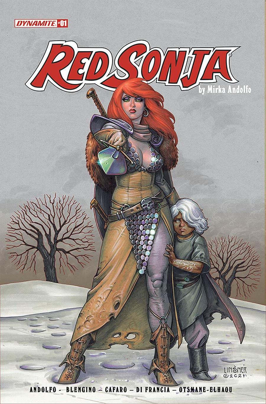 Red Sonja Vol 9 #1 Cover C Variant Joseph Michael Linsner Cover