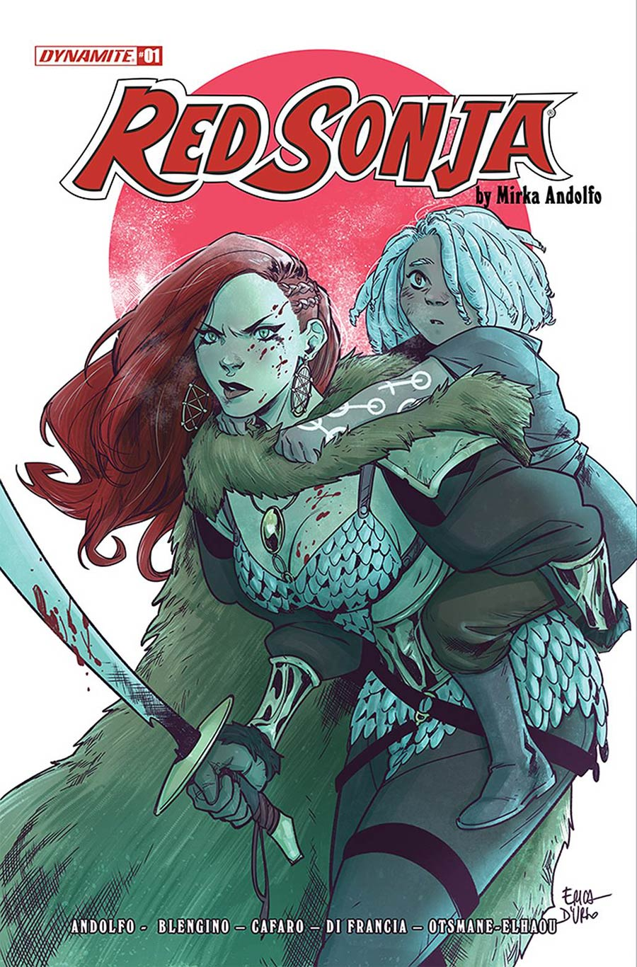 Red Sonja Vol 9 #1 Cover D Variant Erica DUrso Cover