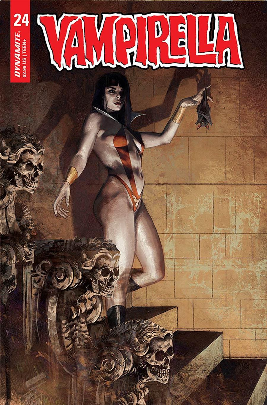Vampirella Vol 8 #24 Cover B Variant Marco Mastrazzo Cover
