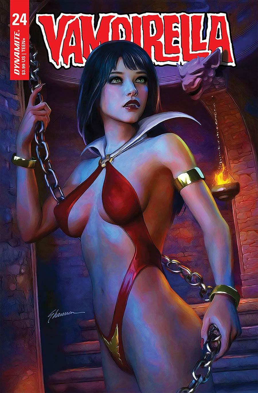 Vampirella Vol 8 #24 Cover C Variant Shannon Maer Cover
