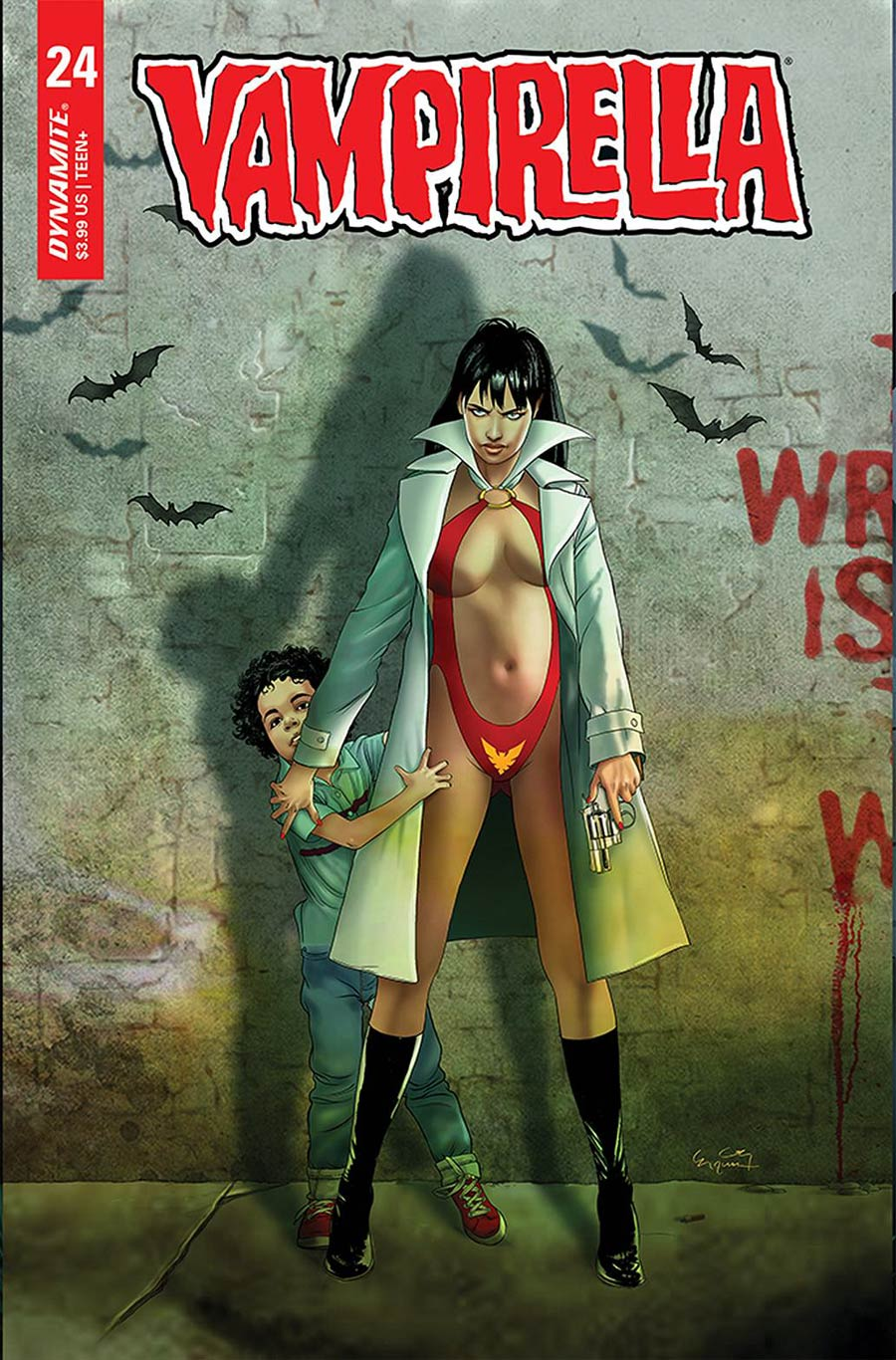 Vampirella Vol 8 #24 Cover D Variant Ergun Gunduz Cover
