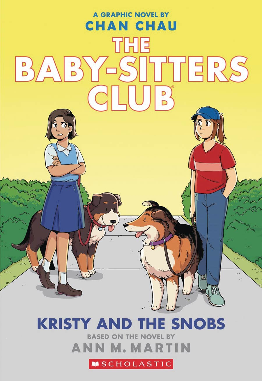 Baby-Sitters Club Color Edition Vol 10 Kristy And The Snobs TP