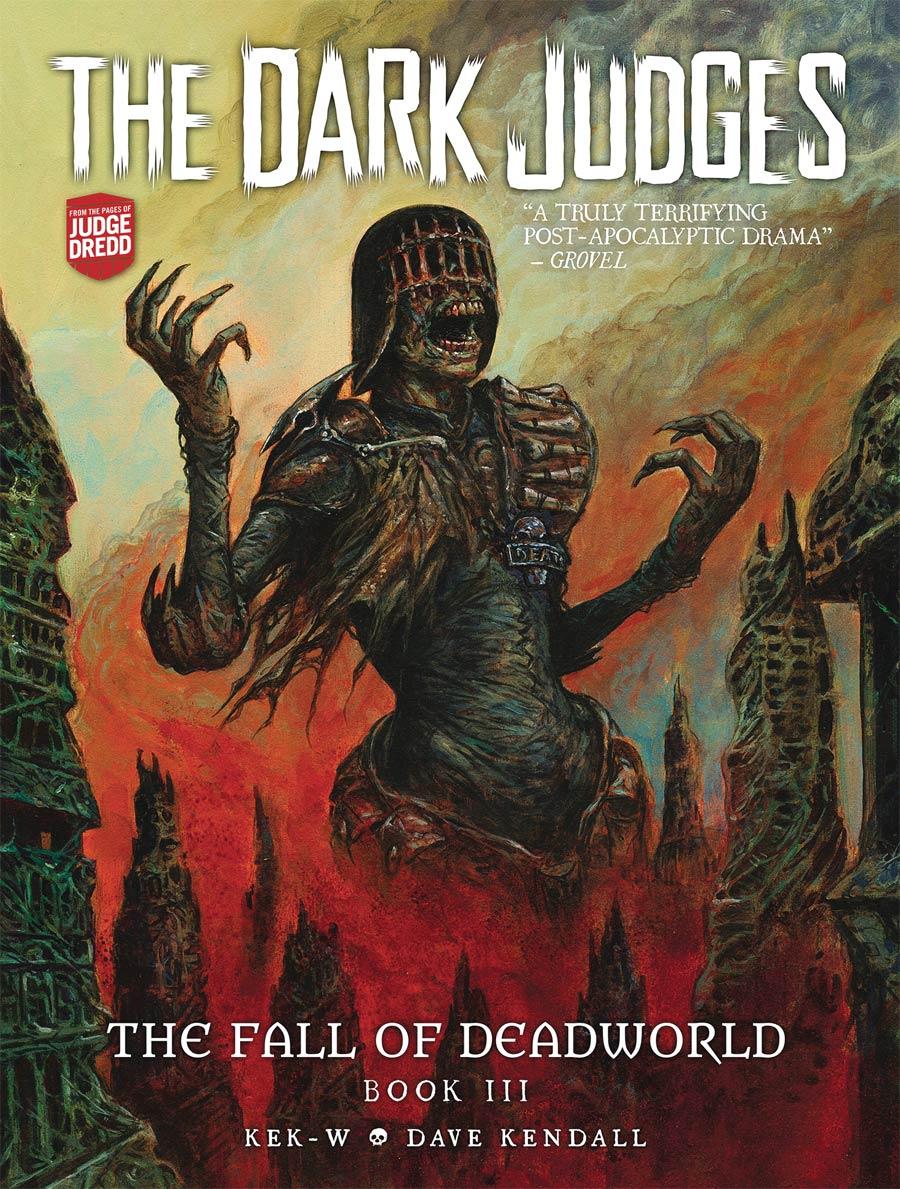 Dark Judges Fall Of Deadworld Vol 3 HC