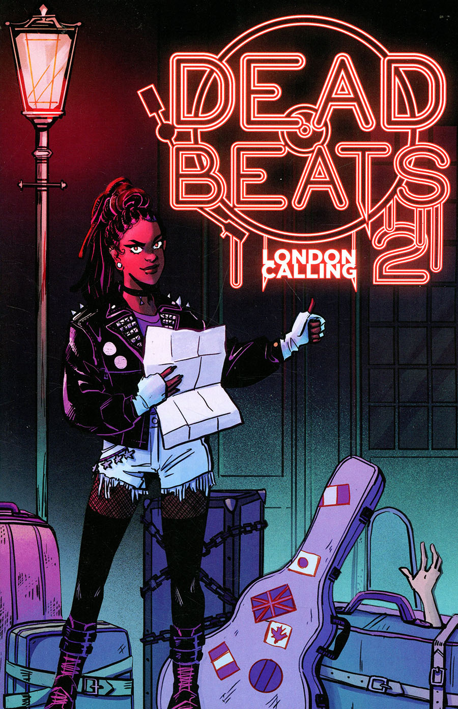 London Calling A Dead Beats Horror Anthology GN