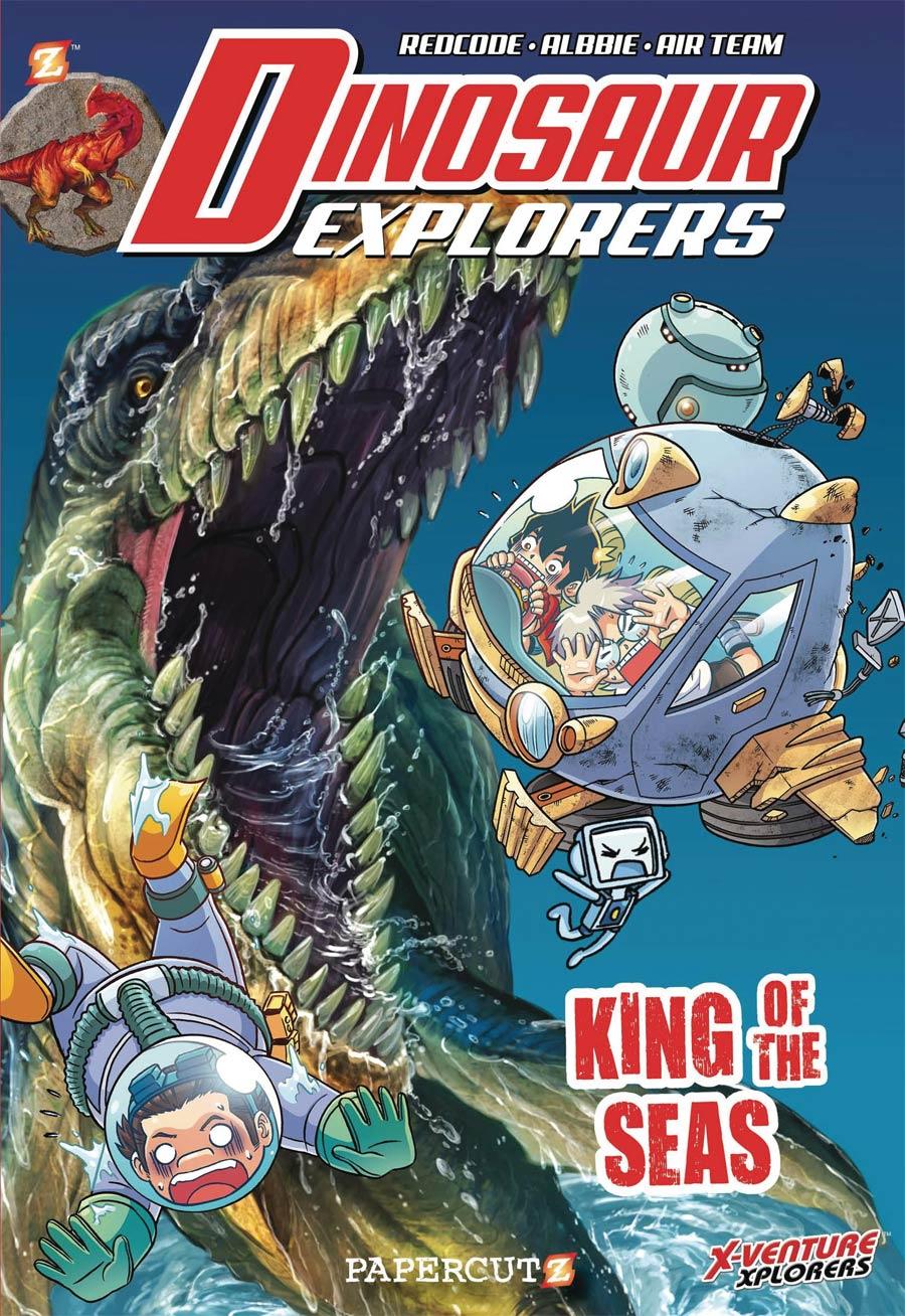Dinosaur Explorers Vol 9 King Of The Seas TP