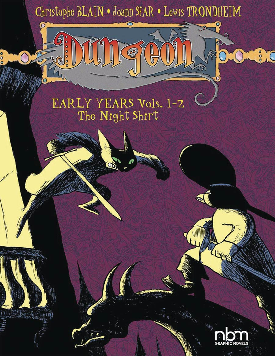 Dungeon Early Years Vol 1-2 Night Shirt TP