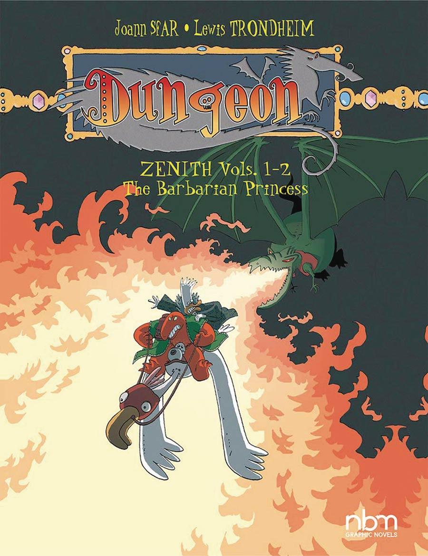 Dungeon Zenith Vol 1-2 Barbarian Princess TP
