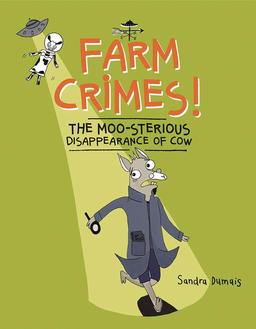 Farm Crimes Moo-Sterious Disappearance Of Cow HC