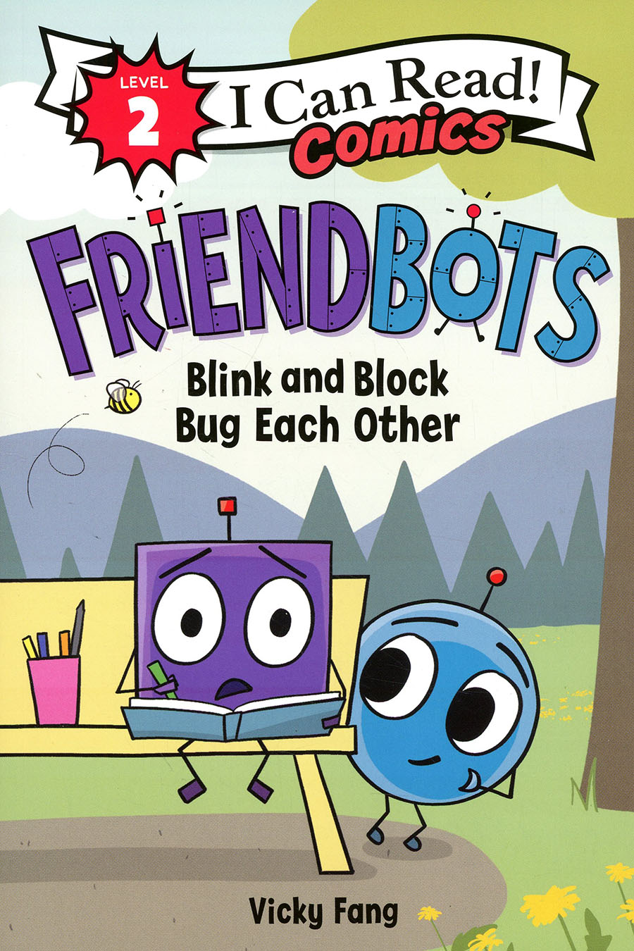 I Can Read Comics Level 2 Friendbots Blink And Block Bug Each Other TP