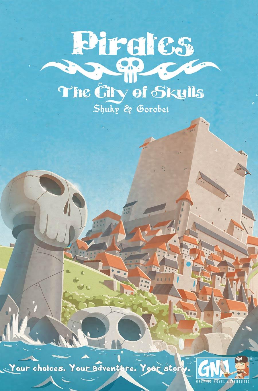 Pirates City Of Skulls Graphic Novel Adventures HC