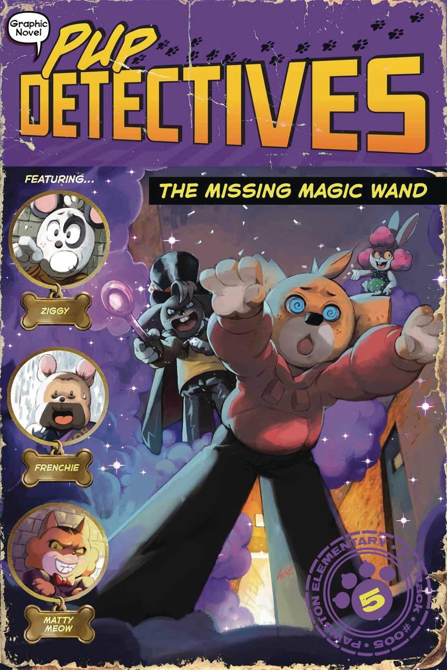 Pup Detectives Vol 5 Missing Magic Wand TP