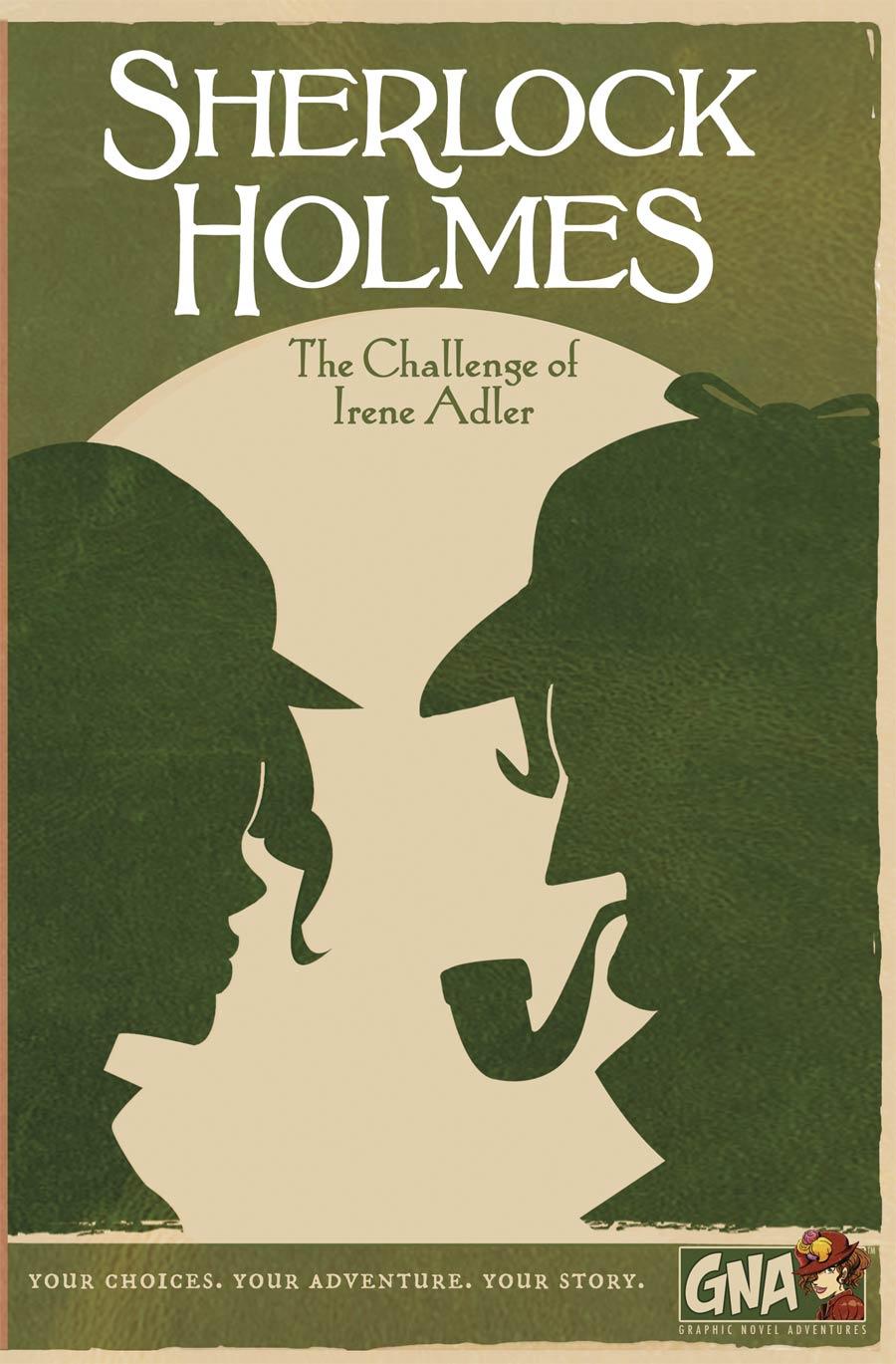 Sherlock Holmes Challenge Of Irene Adler Graphic Novel Adventures HC