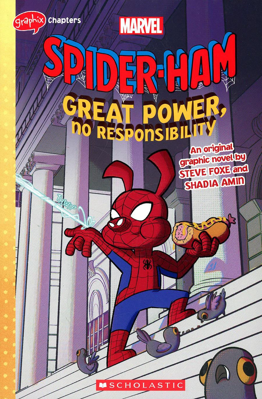Spider-Ham Great Power No Responsibility An Original Graphic Novel TP