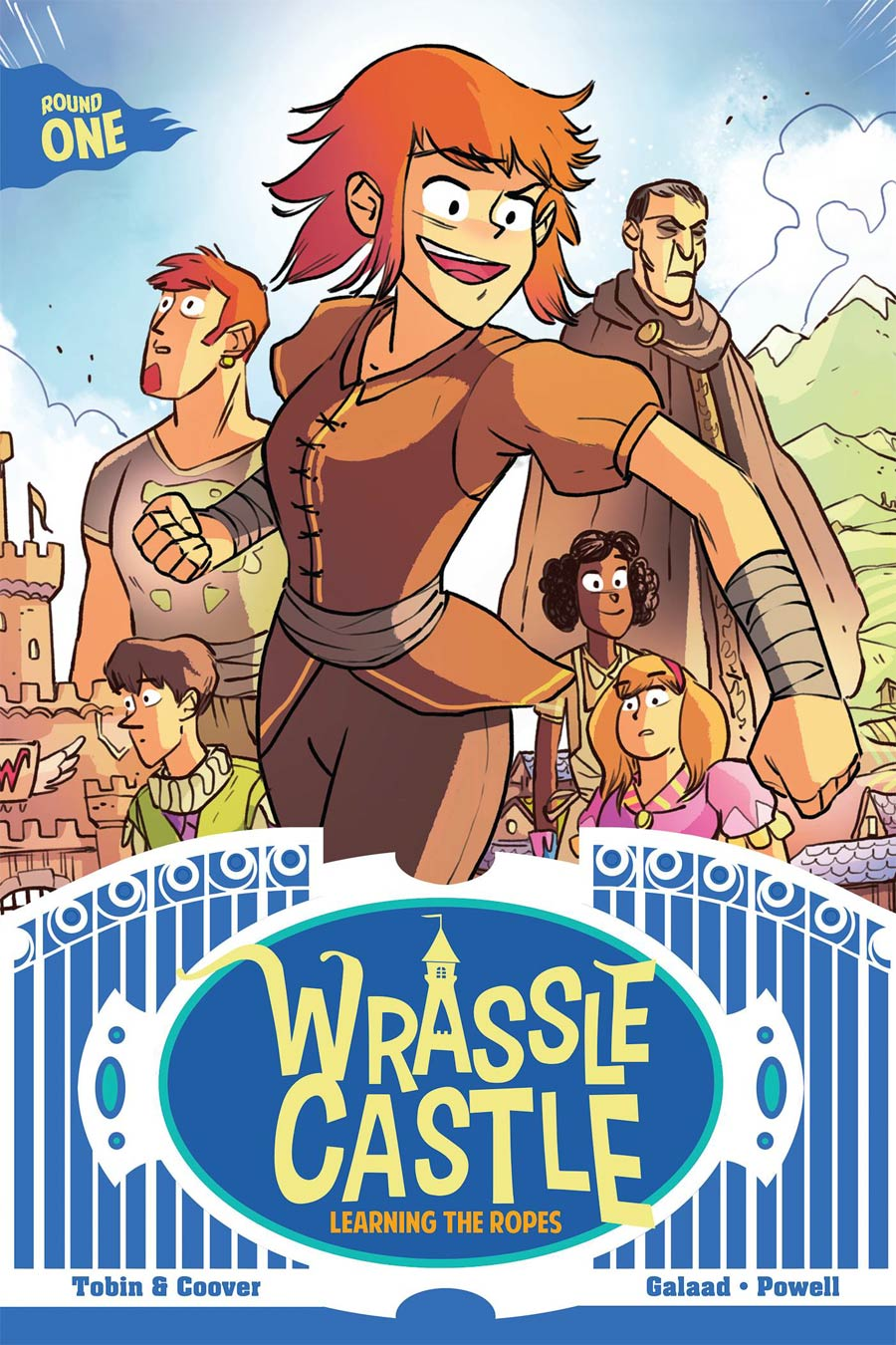 Wrassle Castle Vol 1 Learning The Ropes TP