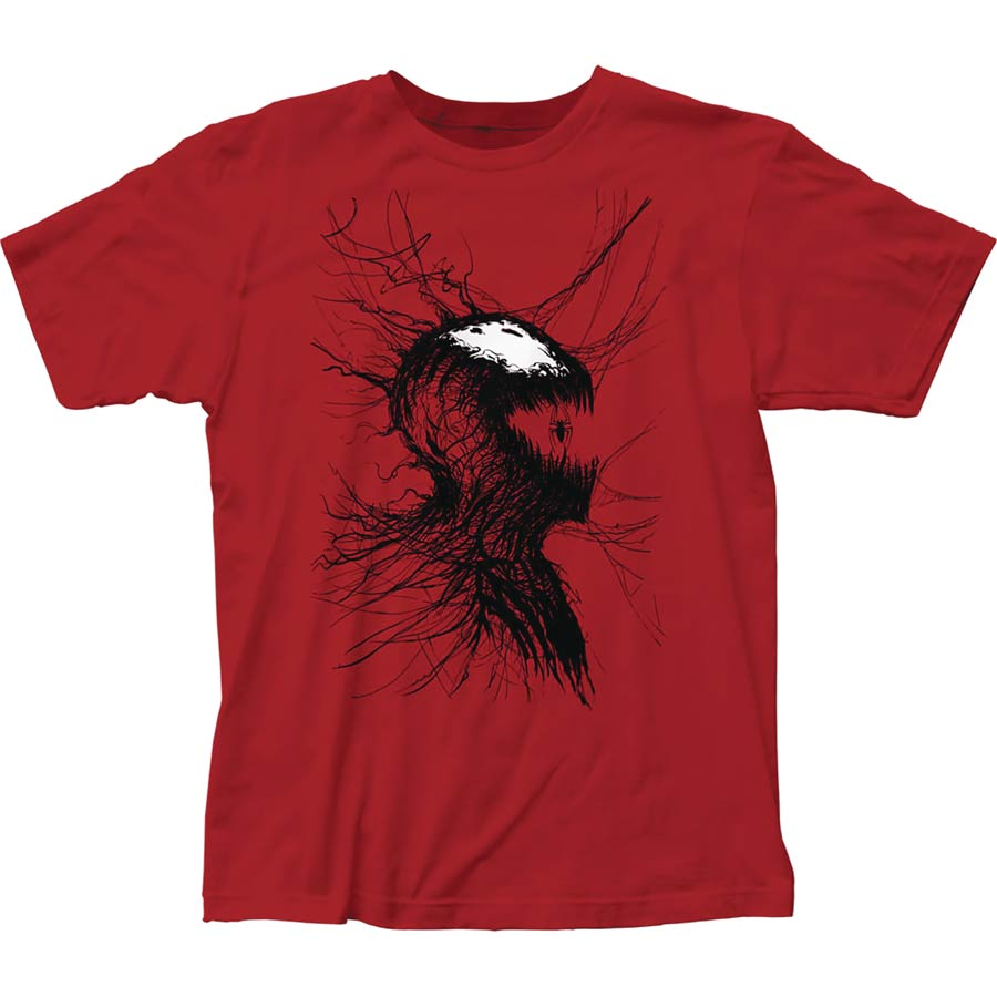 Marvel Webhead Carnage Previews Exclusive Red T-Shirt Large