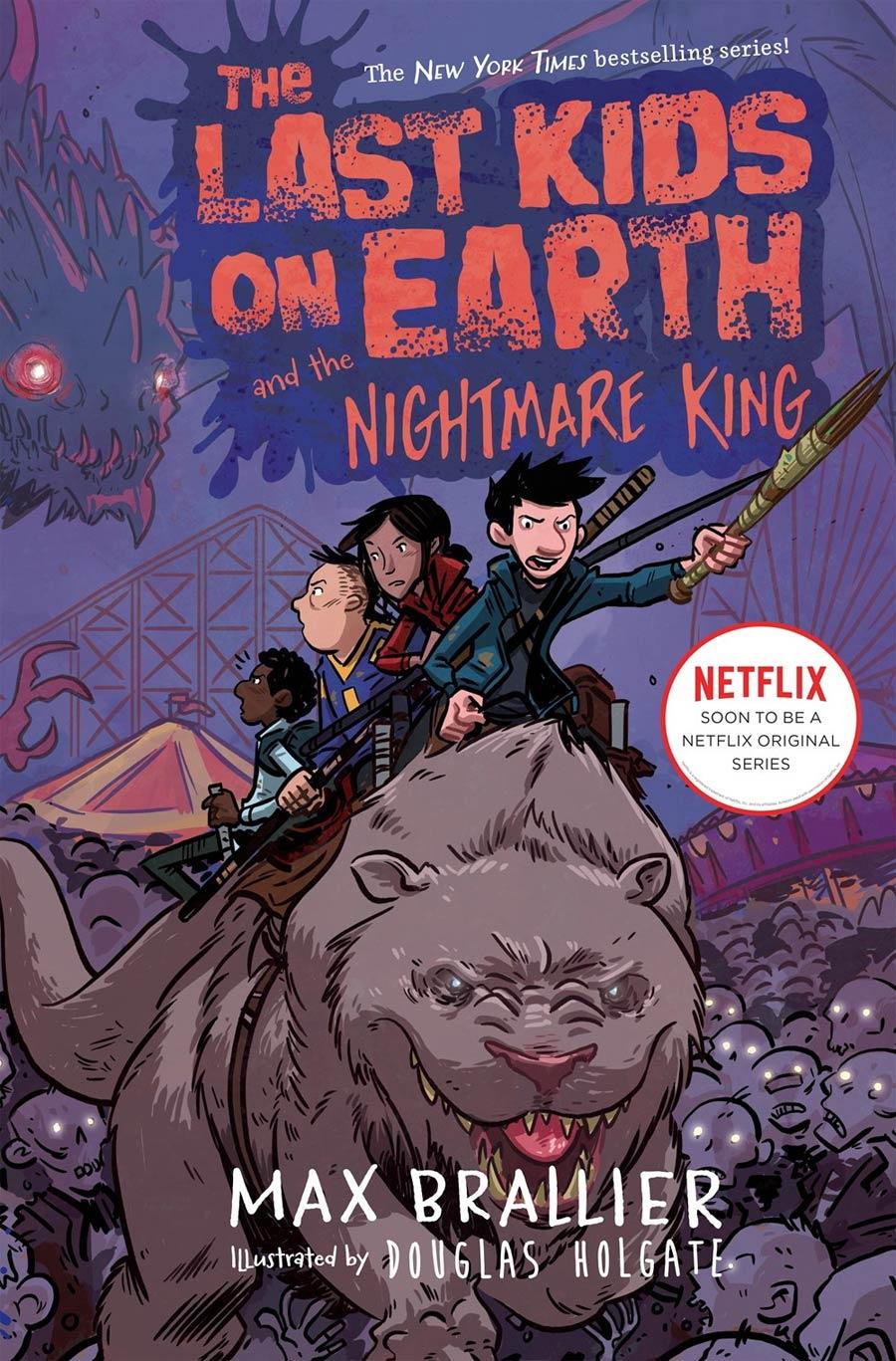 Last Kids On Earth Novel Vol 3 Last Kids On Earth And The Nightmare King HC
