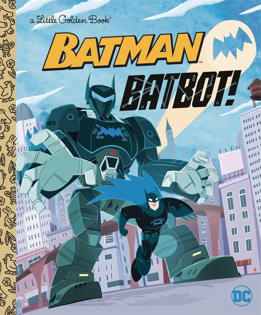 Batman Batbot Little Golden Book HC