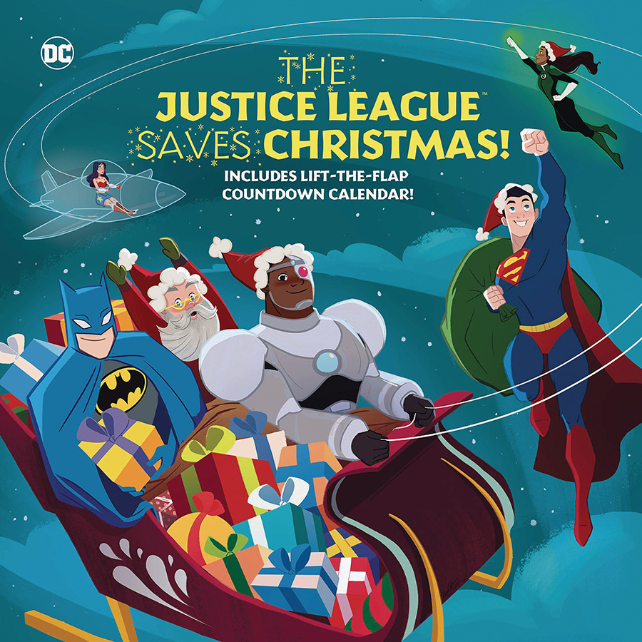 Justice League Saves Christmas HC