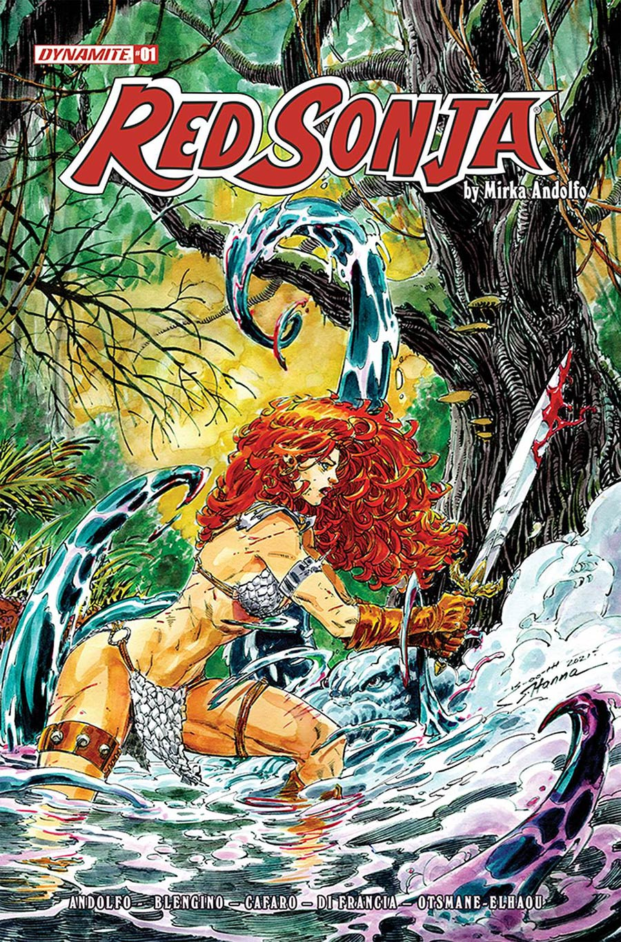 Red Sonja Vol 9 #1 Cover G Incentive Brett Booth Variant Cover