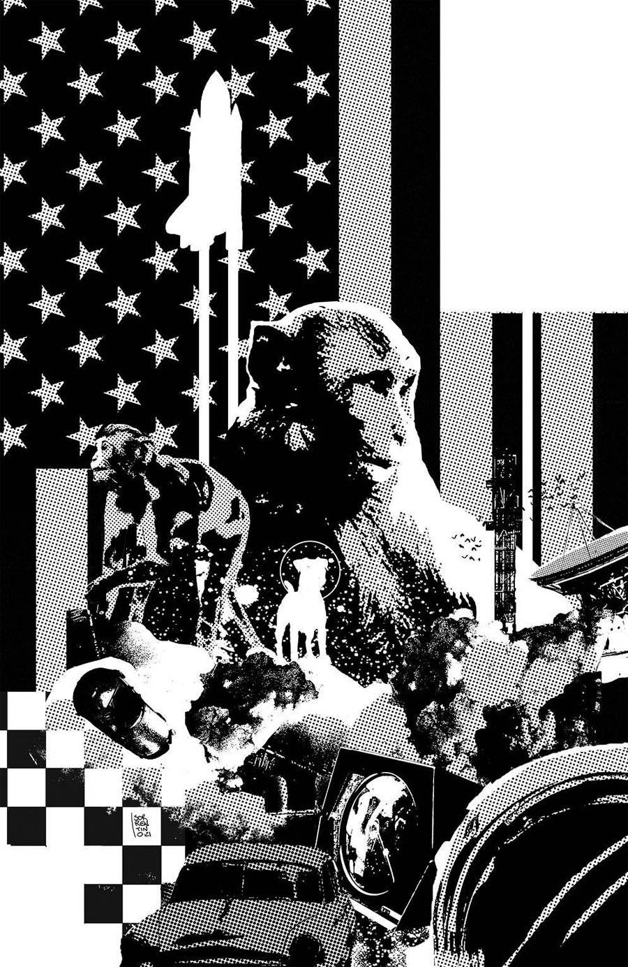 Primordial #1 Cover G Incentive Andrea Sorrentino Raw Black & White Virgin Cover