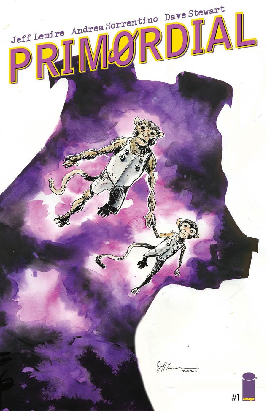 Primordial #1 Cover I Incentive Jeff Lemire Variant Cover