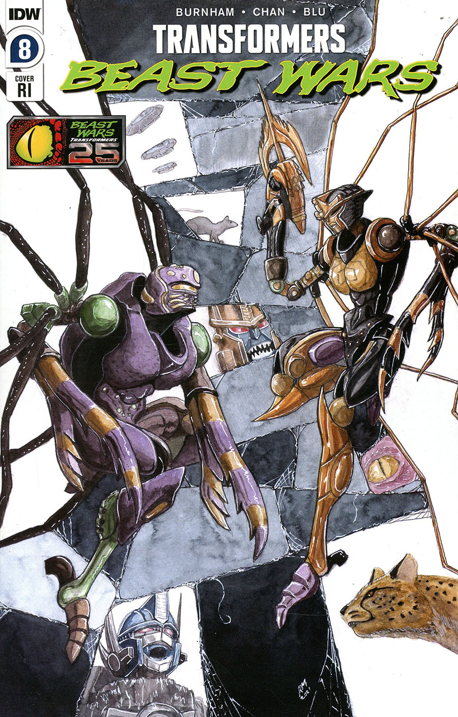 Transformers Beast Wars Vol 2 #8 Cover C Incentive Ryan Miller Variant Cover