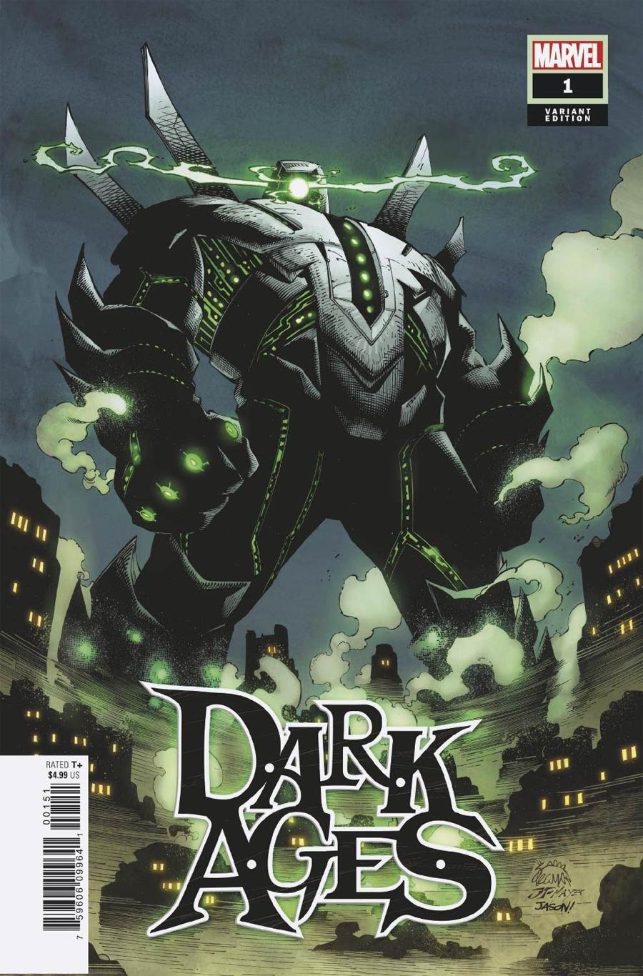 Dark Ages #1 Cover G Incentive Ryan Stegman Variant Cover
