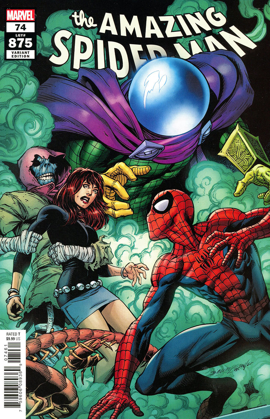 Amazing Spider-Man Vol 5 #74 Cover L Incentive Mark Bagley Variant Cover (#875)