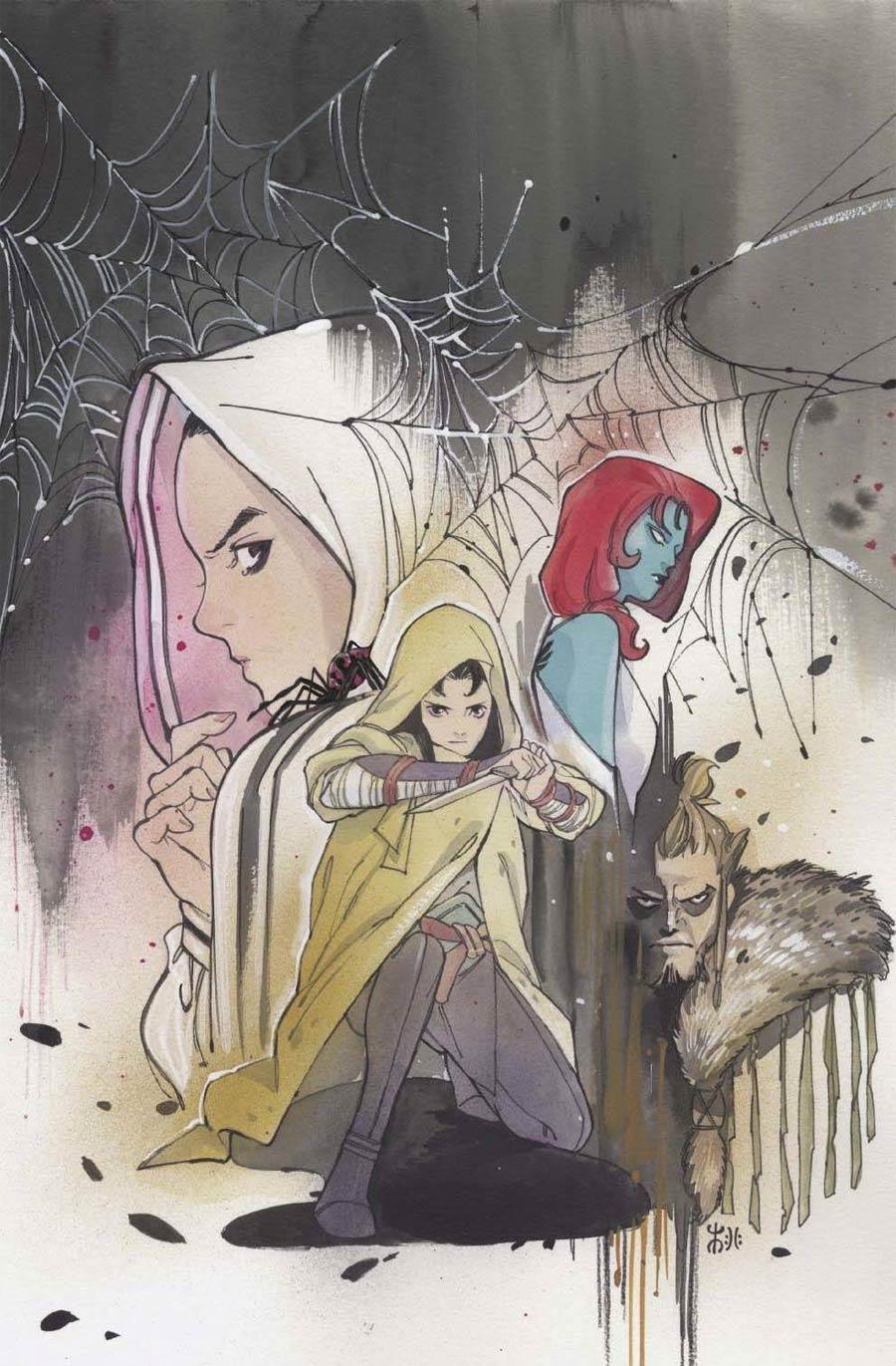 Demon Days Cursed Web #1 (One Shot) Cover K Incentive Peach Momoko Virgin Cover