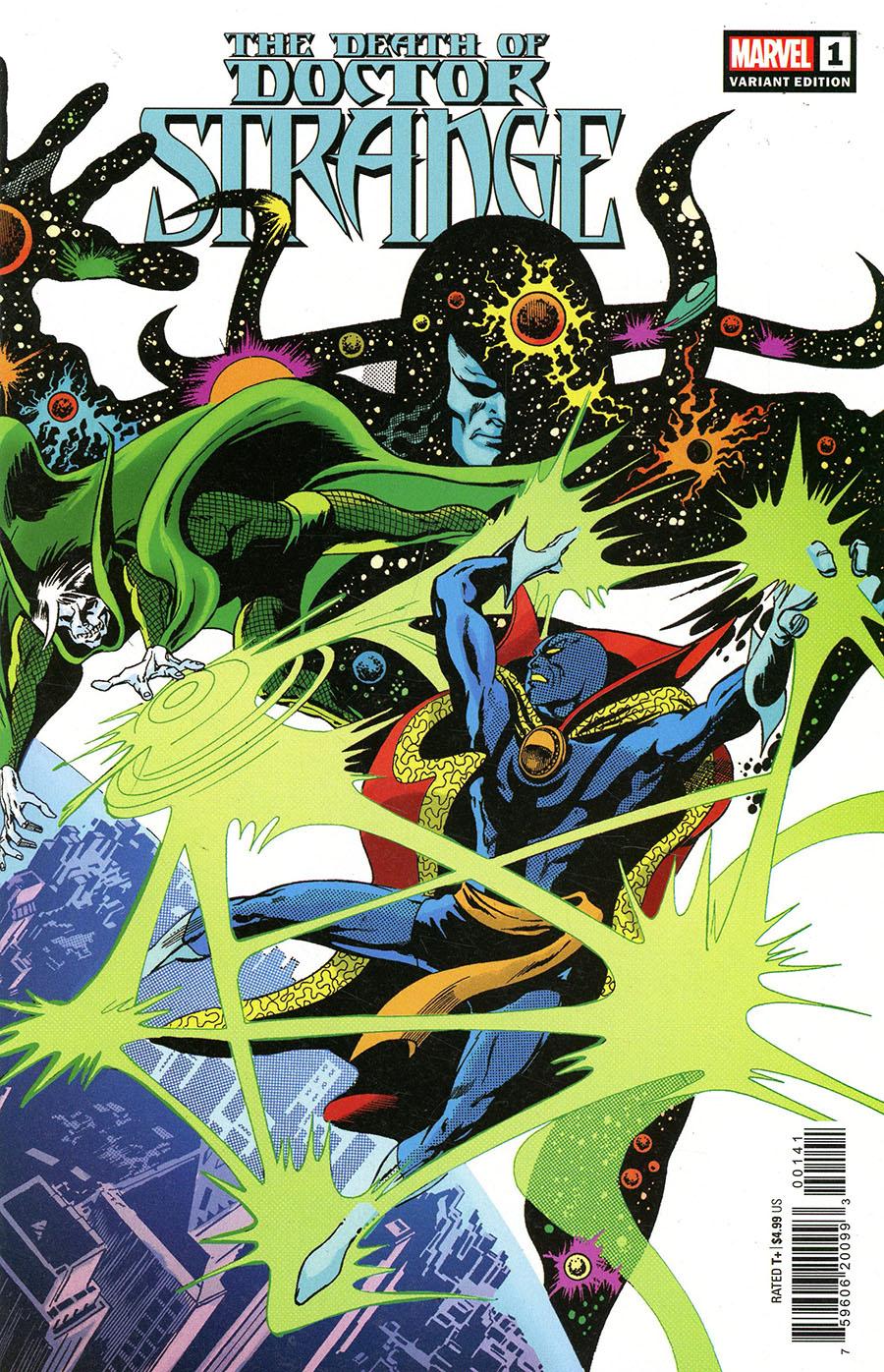 Death Of Doctor Strange #1 Cover G Incentive Gene Colan Hidden Gem Variant Cover