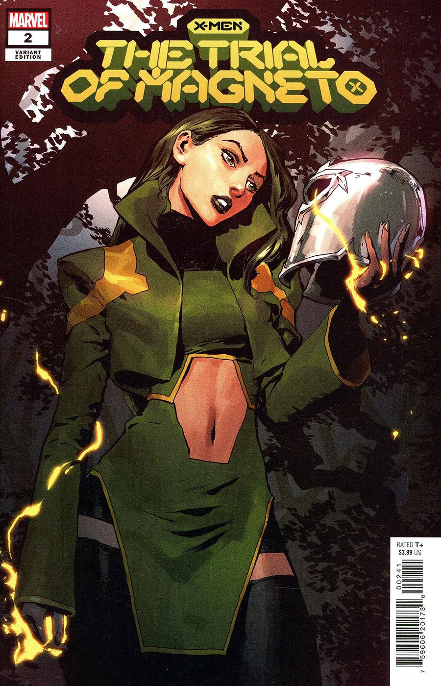 X-Men Trial Of Magneto #2 Cover D Incentive Gerald Parel Variant Cover