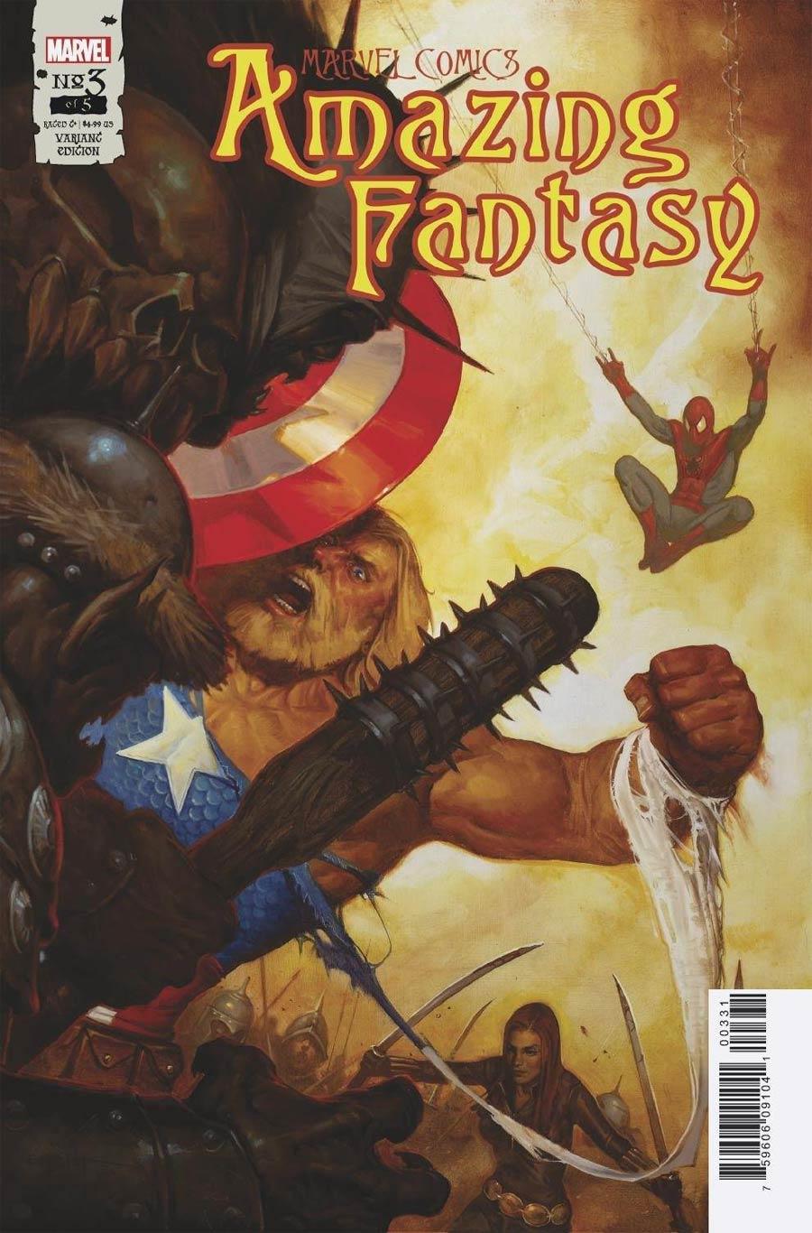 Amazing Fantasy Vol 3 #3 Cover C Incentive EM Gist Variant Cover