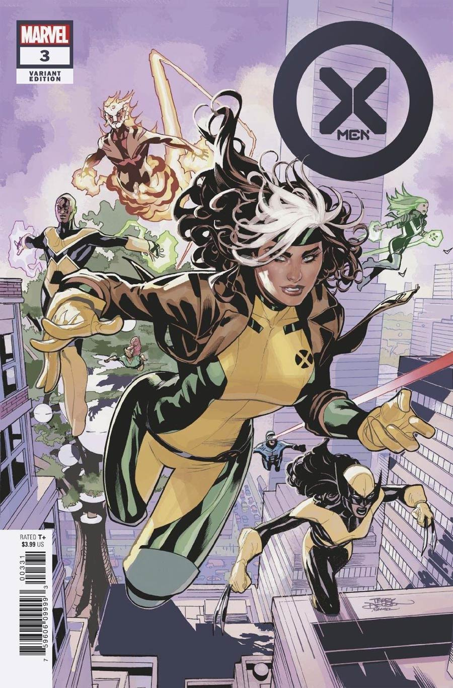 X-Men Vol 6 #3 Cover C Incentive Terry Dodson Variant Cover
