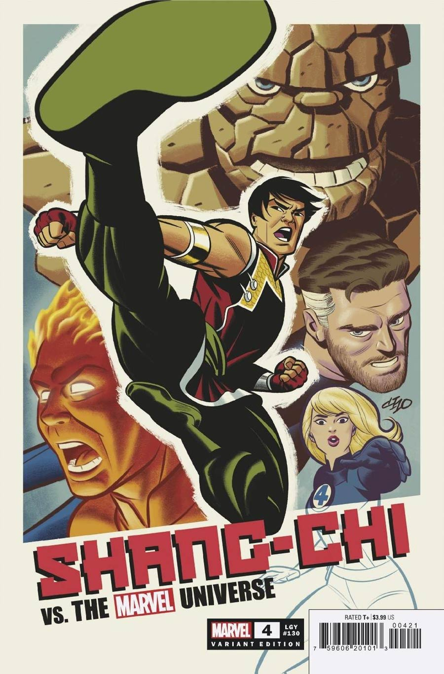 Shang-Chi Vol 2 #4 Cover C Incentive Michael Cho Variant Cover