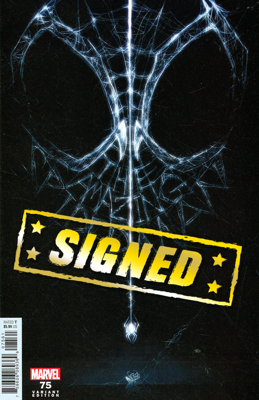 Amazing Spider-Man Vol 5 #75 Cover P Variant Patrick Gleason Webhead Cover Signed By Zeb Wells