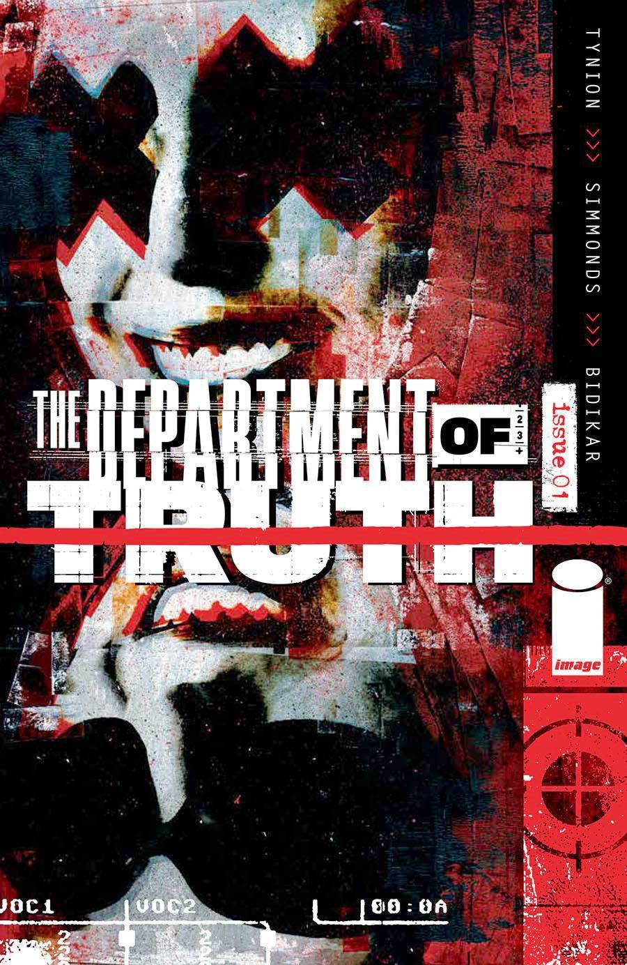 Department Of Truth #1 Cover O 6th Final Ptg Martin Simmonds Variant Cover (Limit 1 Per Customer)