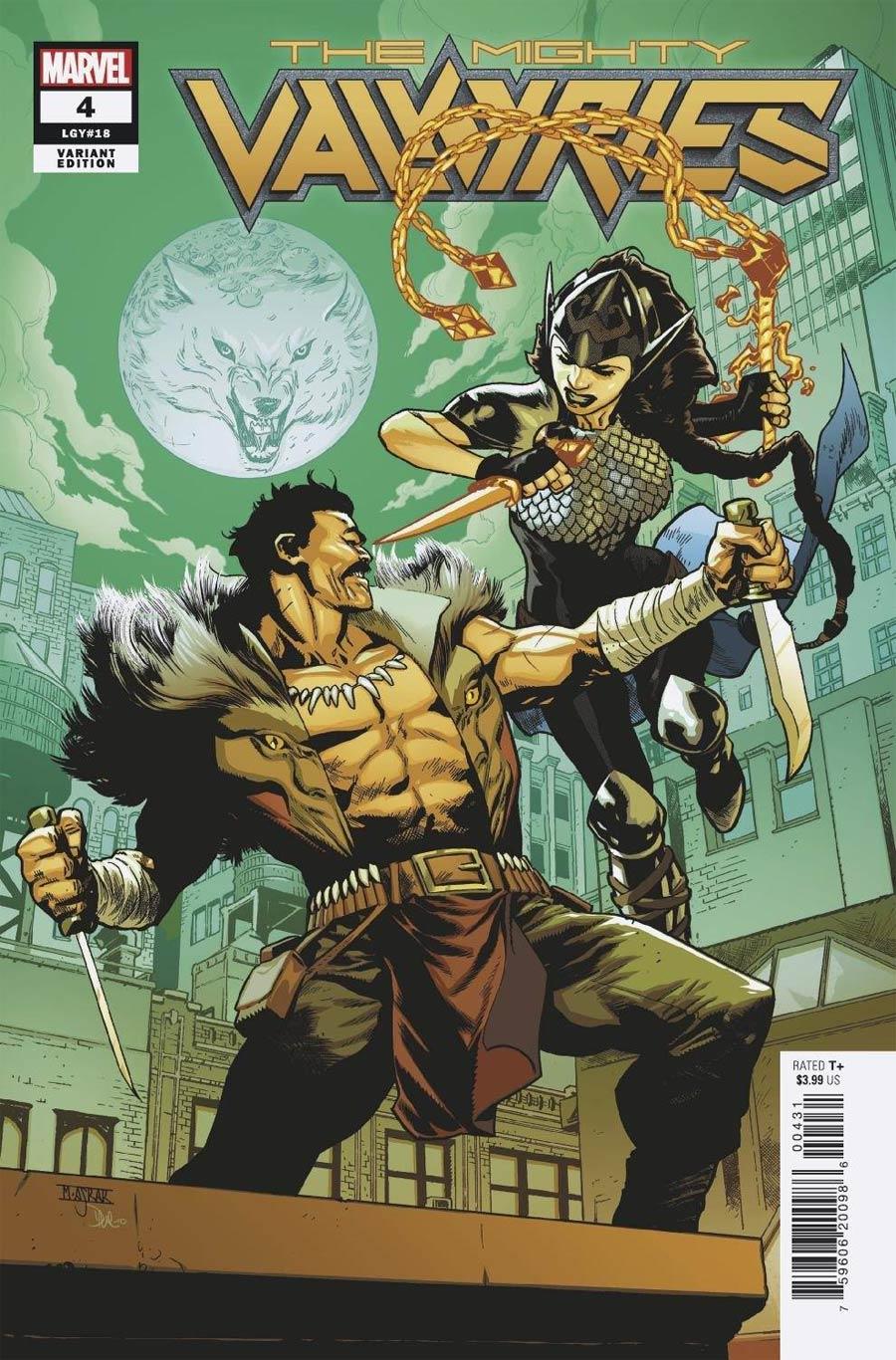 Mighty Valkyries #4 Cover C Variant Mahmud Asrar Spider-Man Villains Cover