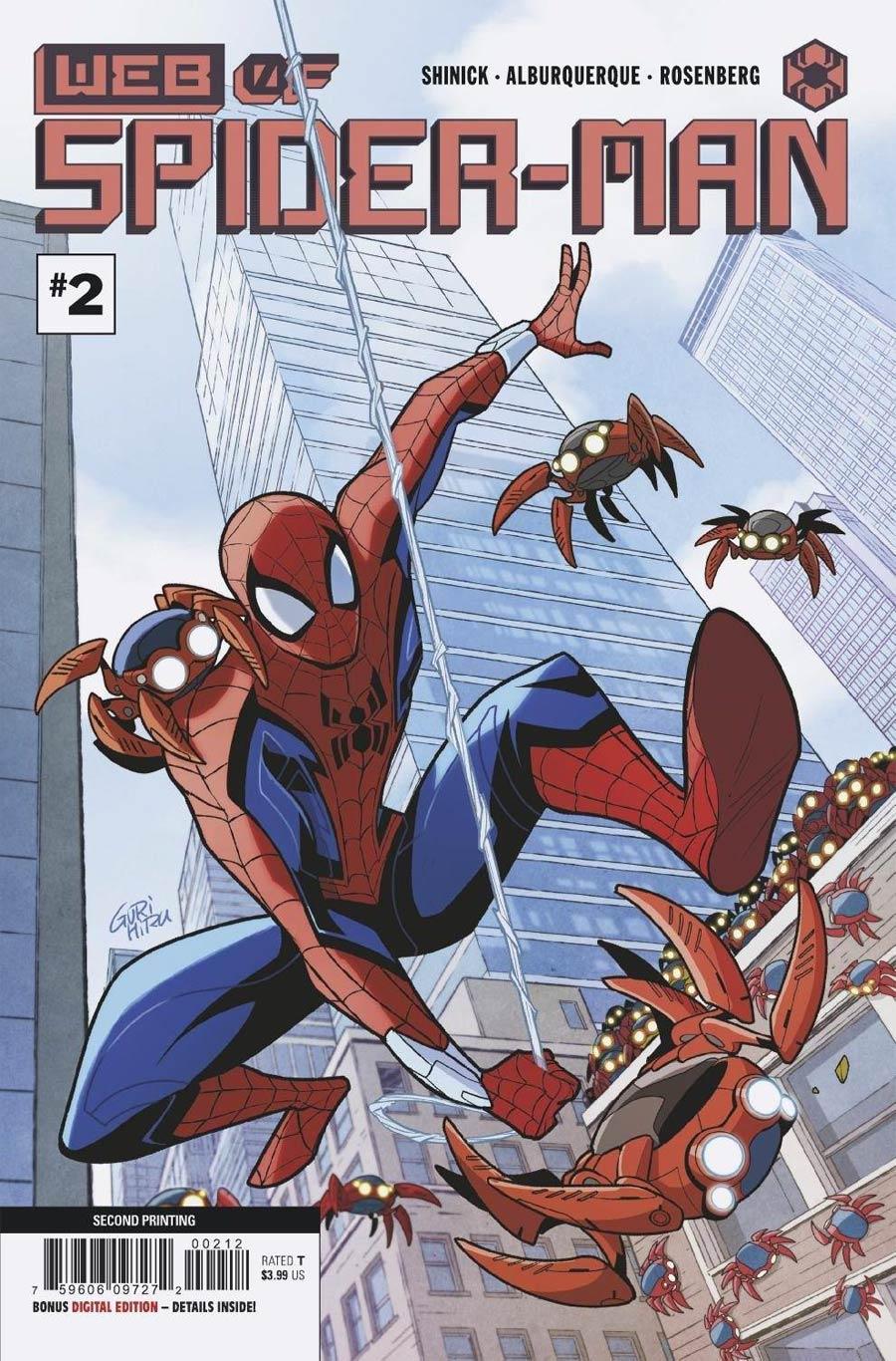 W.E.B. Of Spider-Man #2 Cover C 2nd Ptg Gurihiru Variant Cover