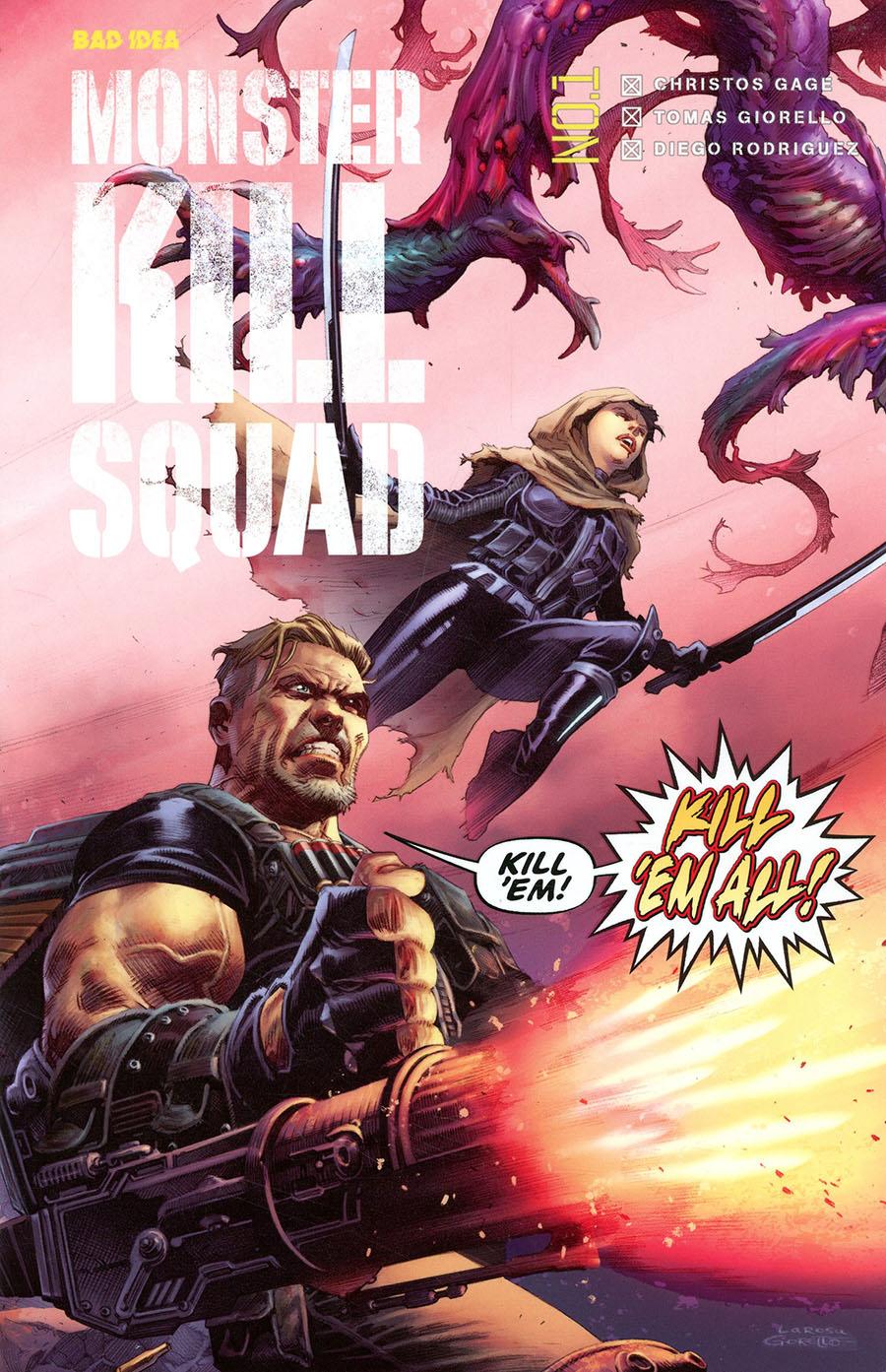 Monster Kill Squad #1 (Limit 1 Per Customer)