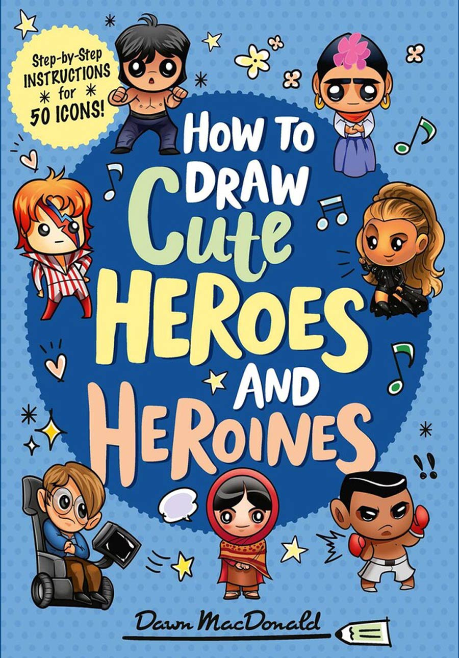 How To Draw Cute Heroes And Heroines TP