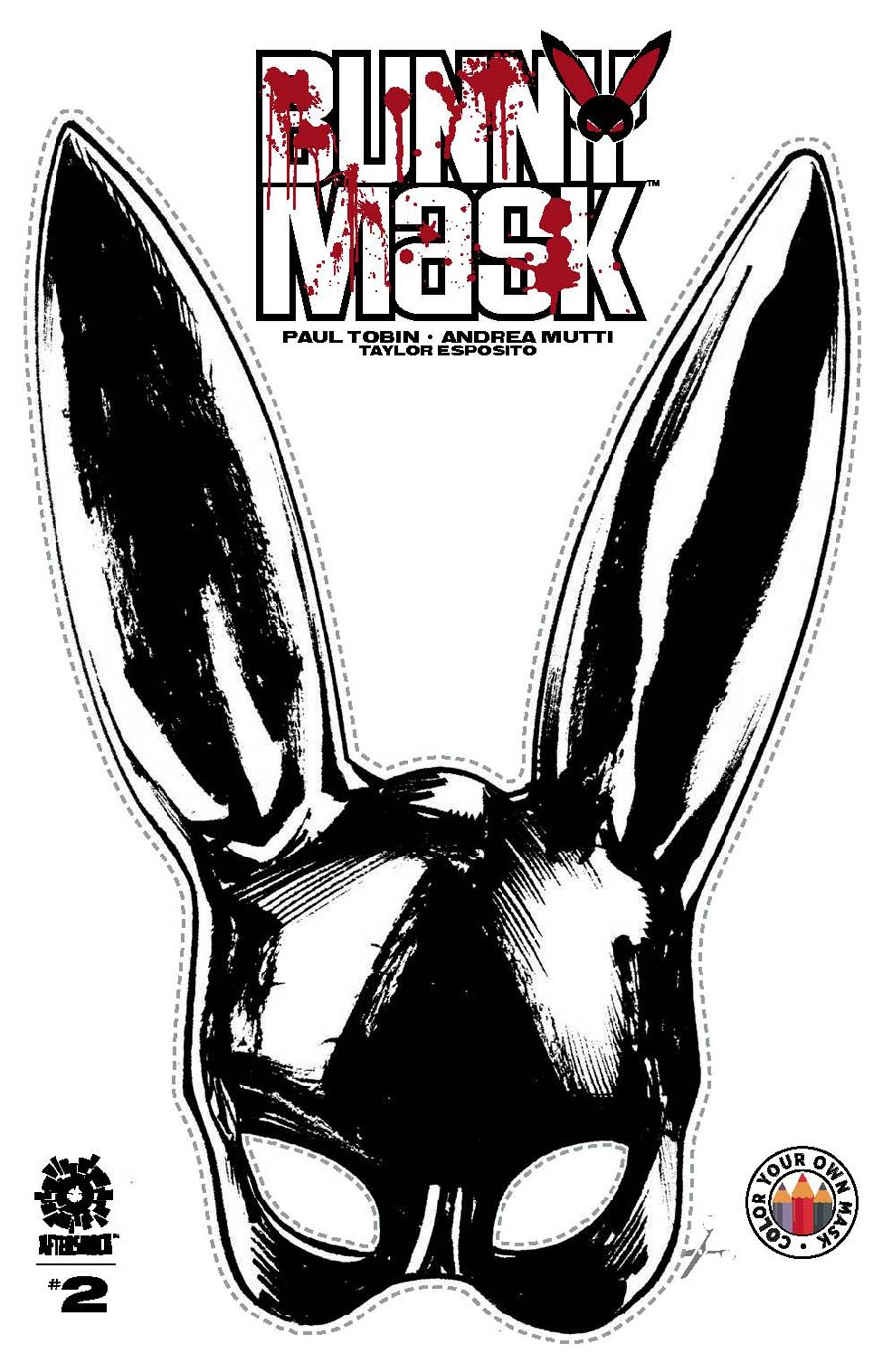 Bunny Mask #2 Cover B Incentive Make-Your-Own Bunny Mask Variant Cover