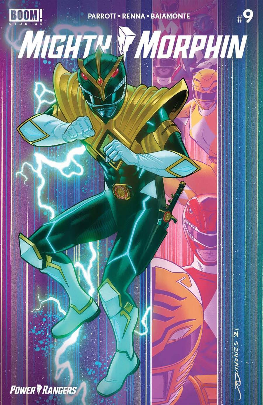 Mighty Morphin #9 Cover F Variant Joe Quinones Secret Cover (Filled Randomly)