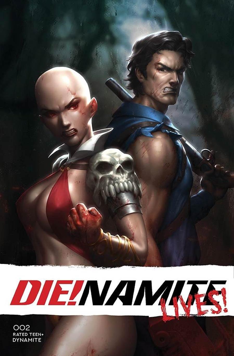DieNamite Lives #2 Cover P Variant Kendrick Lim Cover