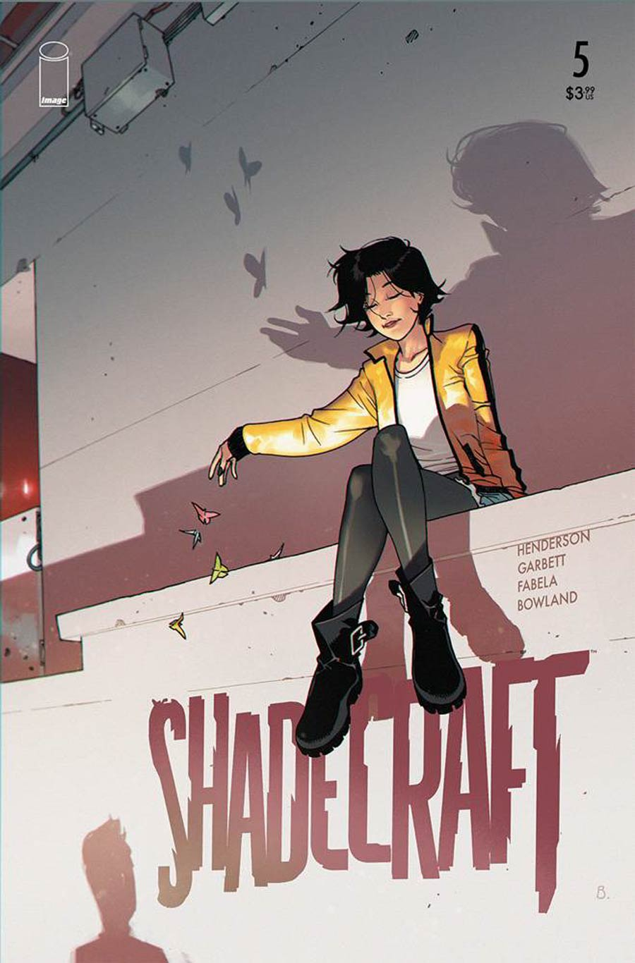 Shadecraft #5 Cover B Variant Bengal Cover