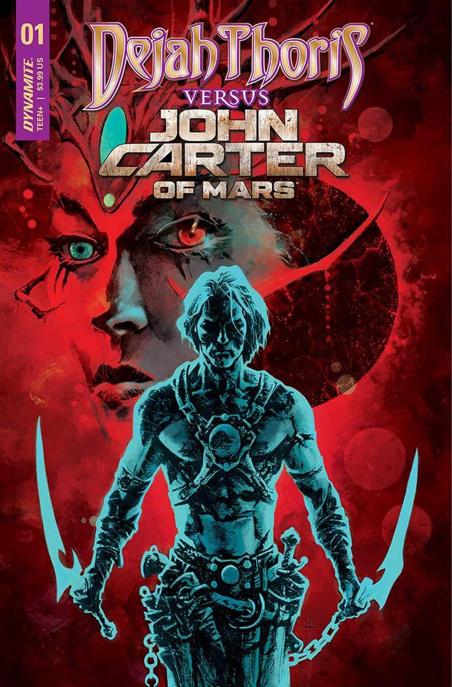 Dejah Thoris Versus John Carter Of Mars #1 Cover O Variant Sebastian Fiumara Premium Cover