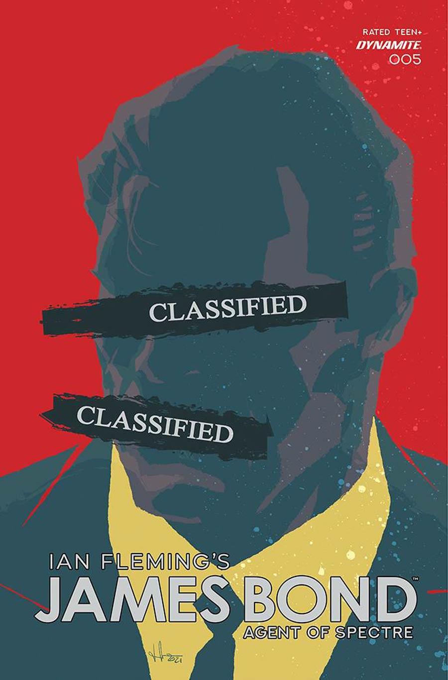 James Bond Agent Of SPECTRE #5 Cover E Variant Luca Casalanguida Premium Cover