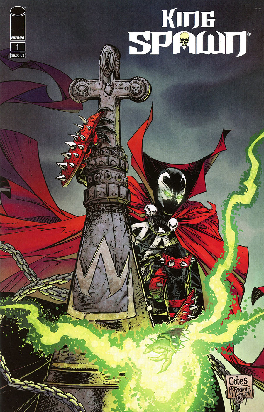 King Spawn #1 Cover G Variant Donny Cates & Todd McFarlane Cover