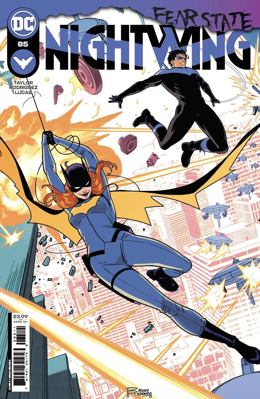 Nightwing Vol 4 #85 Cover A Regular Bruno Redondo Cover (Fear State Tie-In)