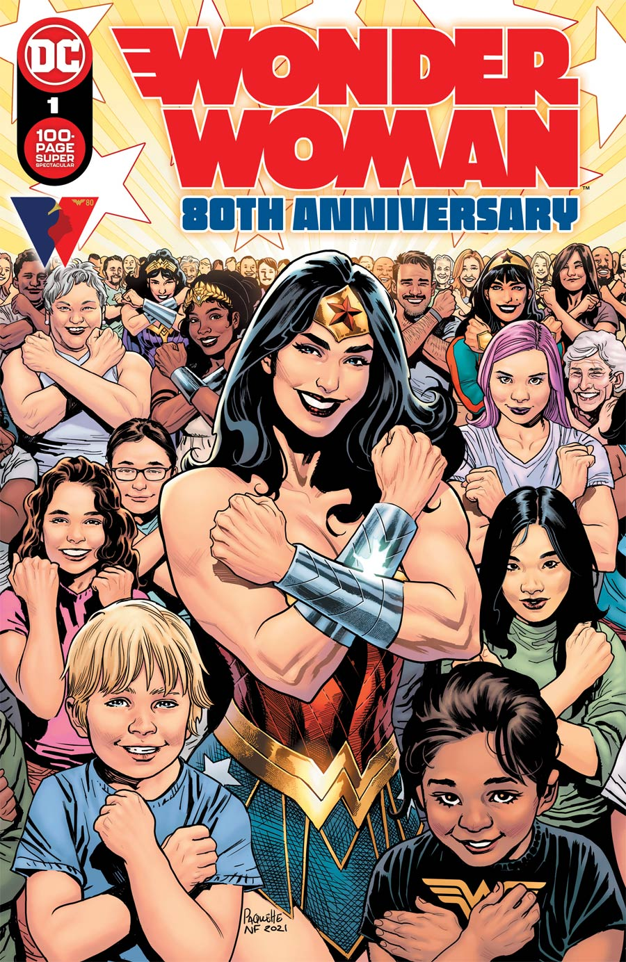 Wonder Woman 80th Anniversary 100-Page Super Spectacular #1 (One Shot) Cover A Regular Yanick Paquette Cover